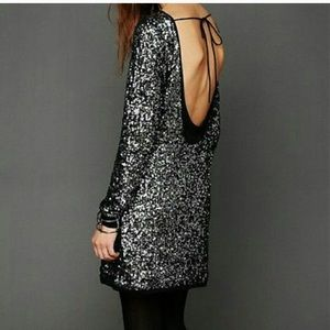 Freepeople Sequined Impressions Dress